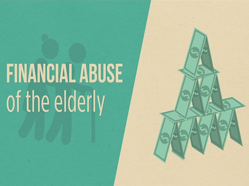 Click here to learn more about financial abuse of the elderly.