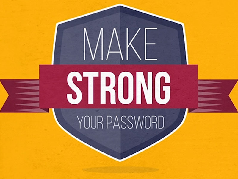 Learn how to create strong password. Click here to learn more.